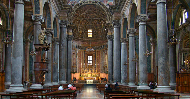 Chiesa di san giuseppe dei teatini palermo la sicilia for Arredi interni san giuseppe vesuviano