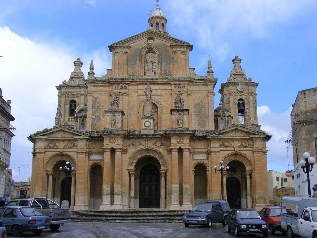 Chiesa di San Nicola ( St. Nicholas' Church)  - Malta (Wikipedia).jpg