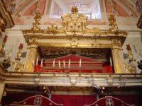 Mostra dei tesori della Cappella Palatina in San Giovanni di Malta Messina.JPG