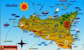 Cartina Carta Tematica Sicilia.Mappasicilia La Sicilia In Rete