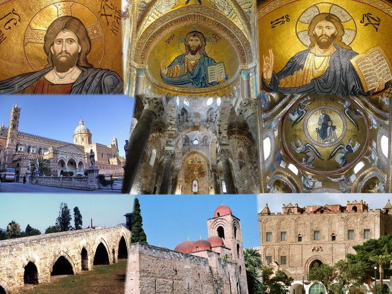I monumenti del sito Unesco Arabo Normanno