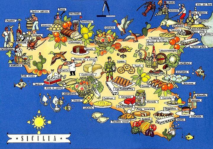 Ricette e Prodotti Tipici di Sicilia