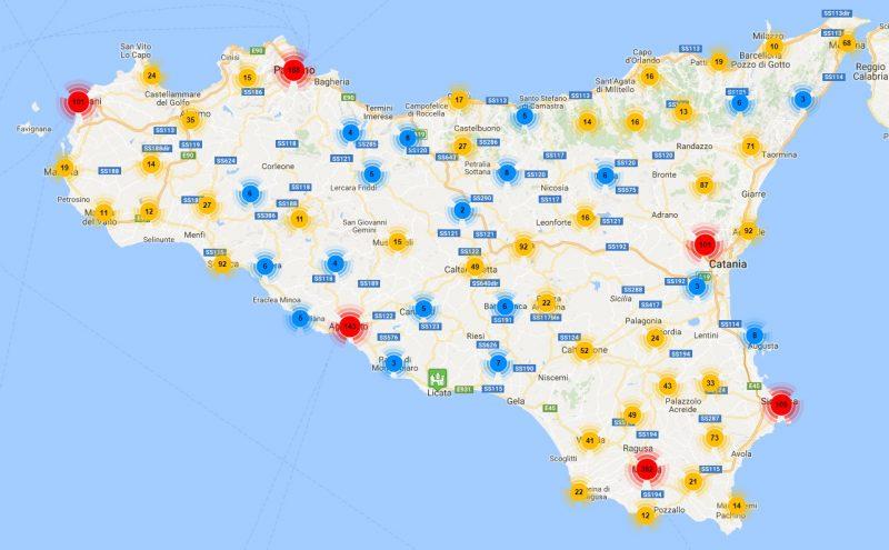 Cartina Sicilia Turistica.Sicilia 3 0 Patrimonio Culturale E Strutture Commerciali