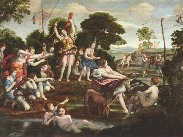 domenico-zampieri-domenichino-la-caccia-di-diana-1616-1617