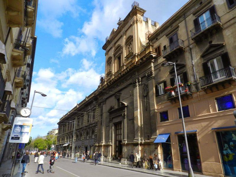 Ex Conservatorio e Chiesa di S. Lucia - Palermo