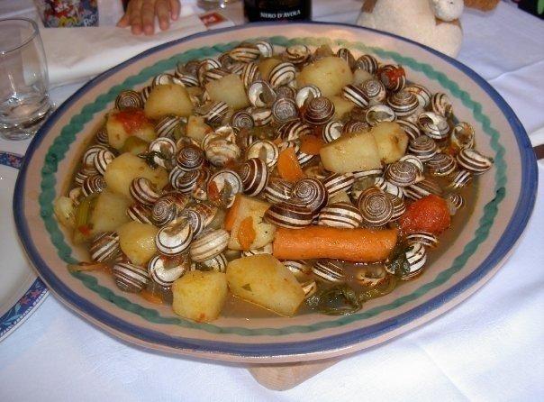 vaccareddi-lumache