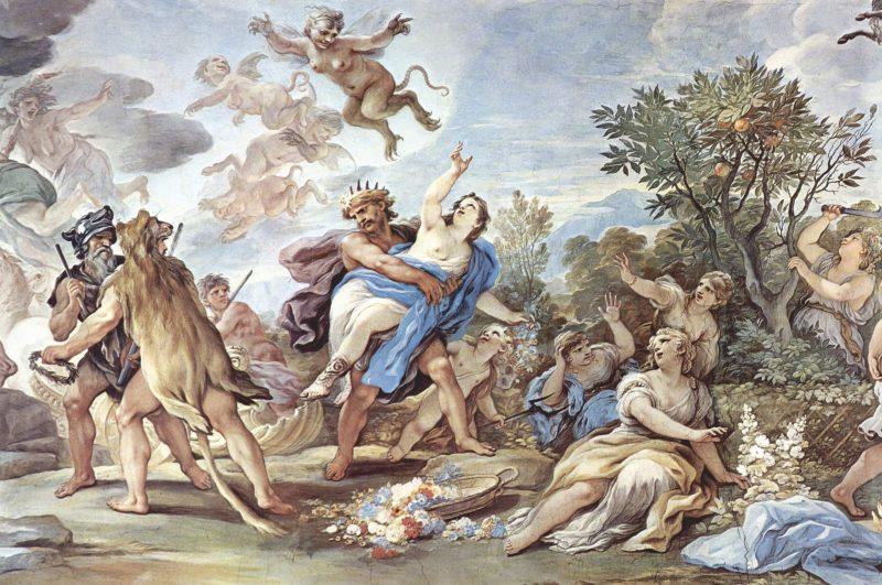 Mito di Plutone e Proserpina
