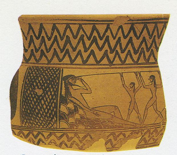 Ulisse acceca Polifemo: Museo archeologico di Argos – Grecia