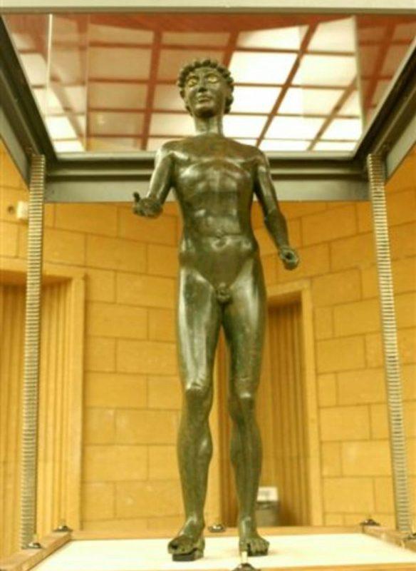 Efebo di Selinunte (Museo di Castelvetrano)